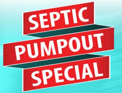 Septic Pumpout Mainland Special